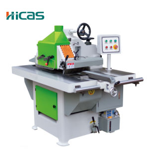 China Woodworking Machinery Single Blade Rip Saw pictures & photos
