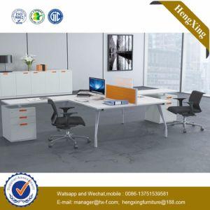 Modern Aluminum Glass Wooden Cubicle Workstation / Office Partition (HX-NJ5069) pictures & photos