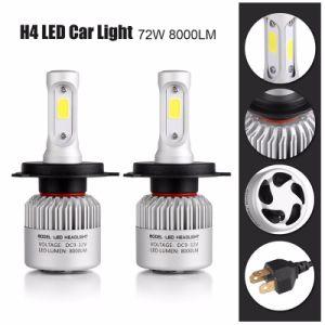 COB/Csp S2 LED Headlight 80W 8000lm 6000K LED Headlight Bulbs H1 H3 H7 H11 H4 H13 880 pictures & photos