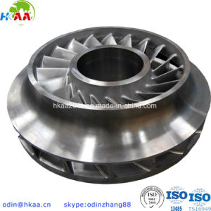 Precision 5 Axis CNC Milling Aluminum Shrouded Impeller for Aerospace pictures & photos