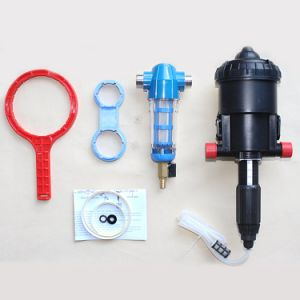 2017 Hot Sale Proportional Water Driven Chemical Fertilizer Injector Chemail Dosing Pump pictures & photos