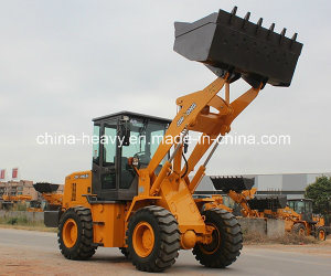 Hot Selling 2 Ton Small/Mini Wheel Loader (1.2m3 bucket) pictures & photos