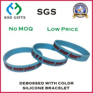 Ink Filled Silicon/Silicone Bracelet for Promotional (KSD-939) pictures & photos