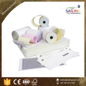 OEM Printed NCR Paper Rolls 76*70mm pictures & photos