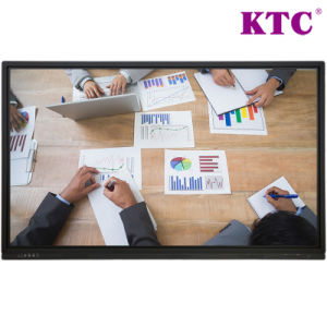 65 Inch High Definition Interactive Flat Panel with No Blind Spots Complete Touch pictures & photos