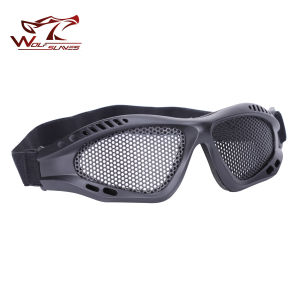 Optic Eyewear Safety Glasses Airsoft Round Holes Army 039 Goggles pictures & photos