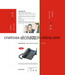 Dual SIM Card GSM Cordless Desktop Phone Ets-6588 with FM pictures & photos