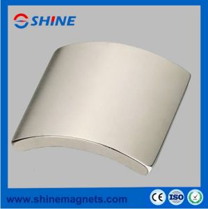 Permanent Strong Sintered Neodymium Motor Magnet with Arc Shaped pictures & photos