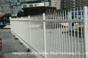 Haohan Cheap Simple Industrial Residential Security Garden White Fence 32 pictures & photos