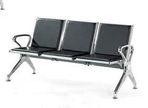 Stainless Steel Bank Hospital Airport Public Waiting Bench Chair (HX-PCL33) pictures & photos