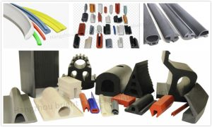 High Quality Solid Rubber Extrusion Part pictures & photos