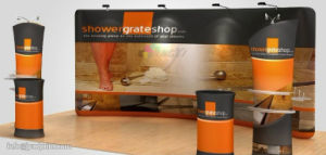 Customized Size LOGO Trade Show Exhibition Aluminum POPup Display Booth pictures & photos