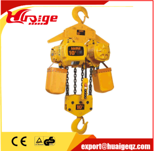 7.5t Three Phase Electric Chain Hoist with Hook pictures & photos