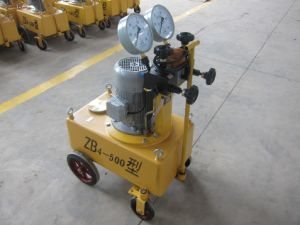 High Pressure Hydraulic Oil Pump Matched with Hydraulic Jacks (ZB4-500) pictures & photos
