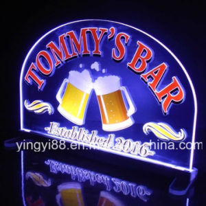 Custom Home Bar Beer Neon Light Sign, Acrylic Sign pictures & photos