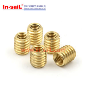 Self-Tapping Installation Diamond Knurled Insert Nut pictures & photos
