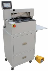 Tab Cutter Tabletop Index Cutting Machine pictures & photos
