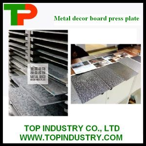 Metal Decor Board Press Plate pictures & photos