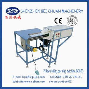 Cushion Rolling & Compressing Packing Machine pictures & photos