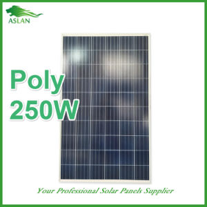 Professional Manufacturer of PV Solar Panel 250W Polycrystalline Silicon pictures & photos