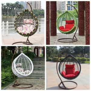 modern Garden Swings Egg Chair Hanging for Adults pictures & photos