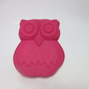 Silicone Backform Owl Cake Mould pictures & photos
