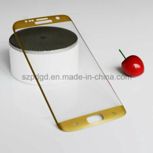 3D 9h Curved Edge Phone Accessories Tempered Glass Screen Protective Film for Samsung S7 Edge (Electroplate) pictures & photos