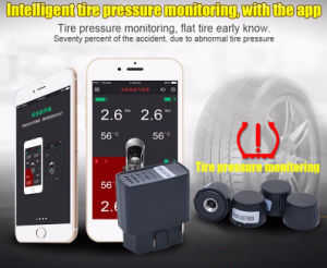 TPMS Tire Pressure Monitoring System Bluetooth APP Version External Sensors pictures & photos