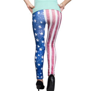 Fashion Pattern Printed Color Women Sexy Leggings pictures & photos