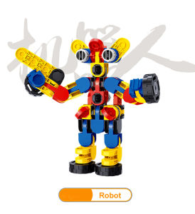 Christmas Gift Deformation Robot Building Block pictures & photos