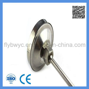 Dial 60mm Industrial Stainless Steel Long Probe Axial Bimetal Thermometer 0-300c pictures & photos