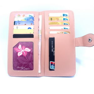 Magic Tape Wallet Wholesale on Behalf of Ms Students Card Card Package Long Wallet Tide pictures & photos