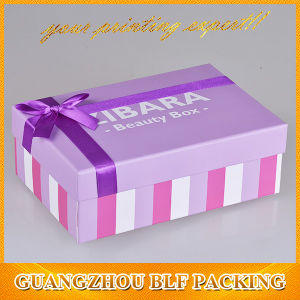 Cosmetic Baby Paper Gift Shower Box pictures & photos