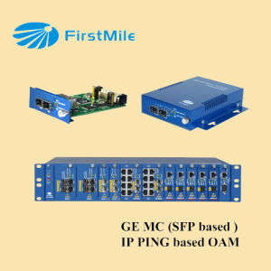 Firstmile 10/100/1000Mbps Fiber Optic Media Converter pictures & photos