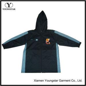 Navy Toddler Raincoat Boys Lightweight Waterproof Rain Jacket pictures & photos