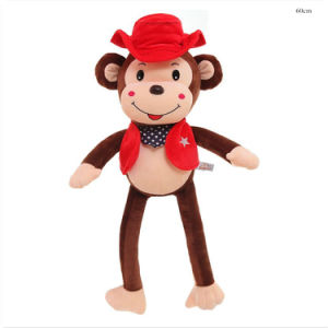 Patchers Monkey Cute Sitting Gift Kids Plush CE Toy pictures & photos