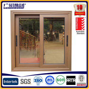 Aluminium Glass Arched Curved Slider Window / Double Kitchen Sliding Window pictures & photos