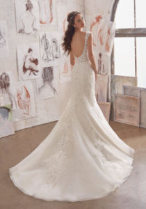 2017 Gorgeous Flare Bridal Wedding Dress Wd509 pictures & photos