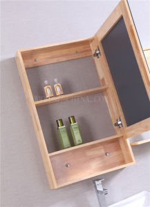 Solid Wood Bathroom Cabinet pictures & photos
