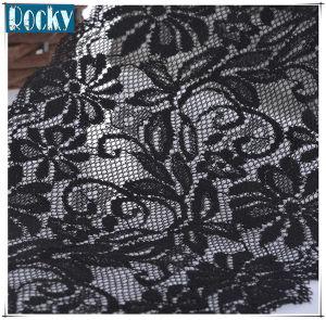 Garment Accessories Black Lace Trimming Nylon Lace
