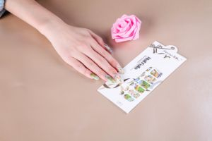 Lovely Girls Temporary Water Transfer Nail Sticker Art Nail Sticker pictures & photos