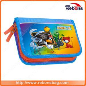 Silk Screen Printing Popular Cartoon Book Bags pictures & photos