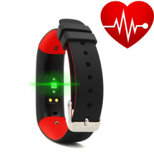 P1 Blood Pressure Recorder Bluetooth Waterproof Sports Bracelet for Mobile Phone pictures & photos