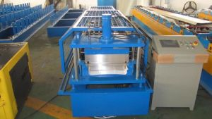 Fully Automatic 0.6 -1.2mm Color Coated Steel Sheet Cold Roll Forming Machine pictures & photos
