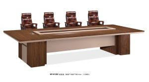 Modern Office Wood Negotiation Meeting Conference Table pictures & photos