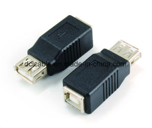 USB2.0 A Male to B Female Adapter pictures & photos