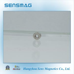 ISO Factory Manufacture Sintered Permanent NdFeB Magnet with Countsink Hole pictures & photos