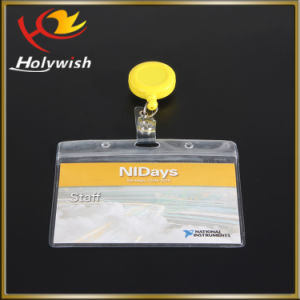High Quality Retractable Badge Holder for Cardholder Pull Key Reel pictures & photos