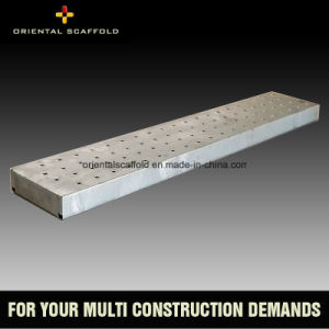 Galvanized Safe Scaffolding Steel Plank pictures & photos