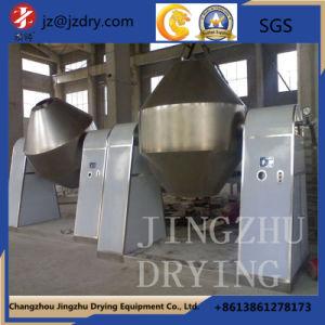 Stainless Steel Double Cone Rotating Vacuum Drying Machine Stainless Steel pictures & photos
